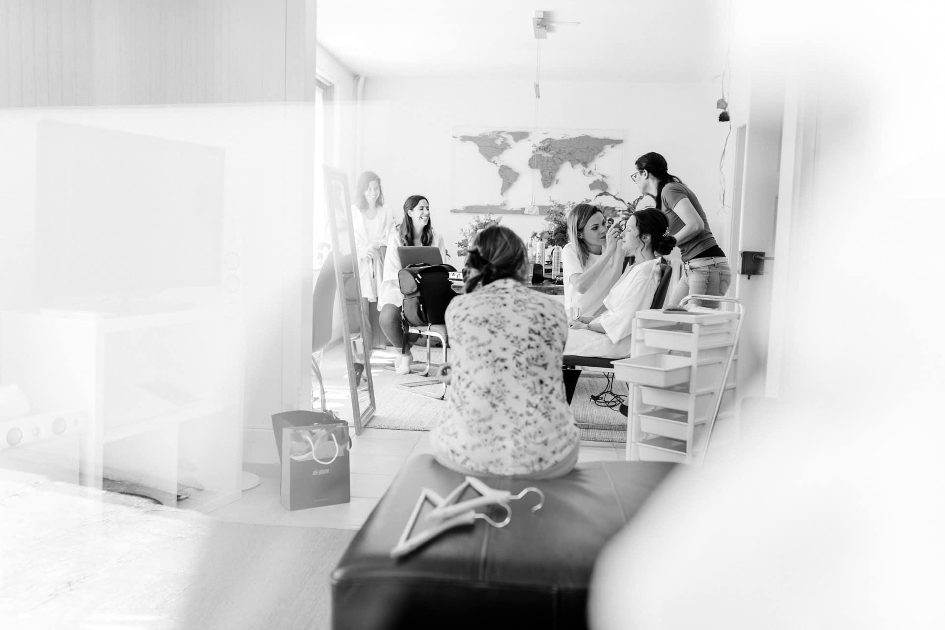 Hochzeitsreportage einer Hochzeit in Solothurn und auf dem Attisholz Areal in Riedholz
